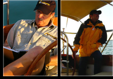 Meet the crew from black watch sailing charters lake for Captain dave s fishing